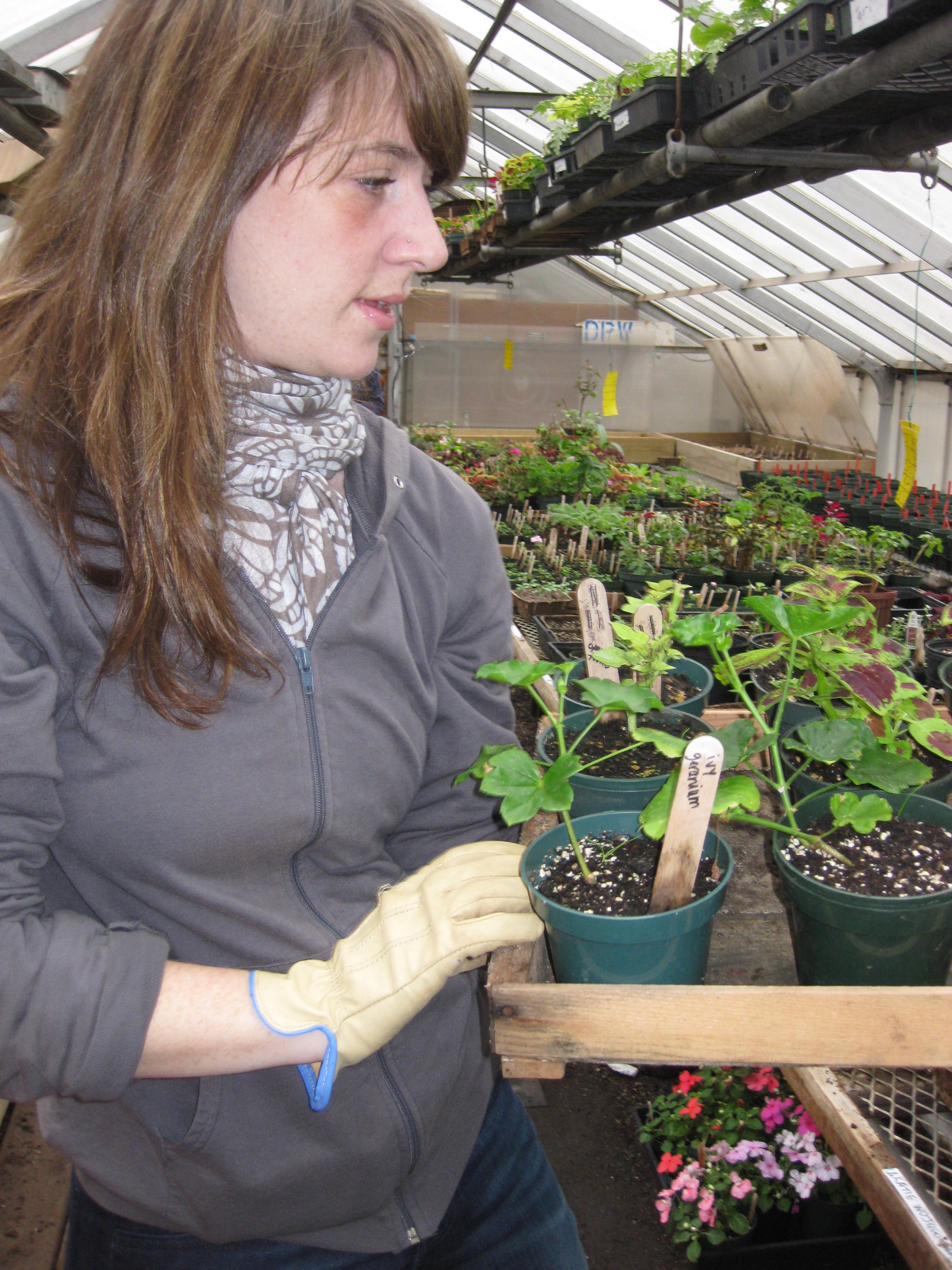 Gardener Katie